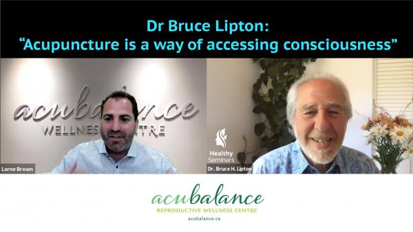 Image of Bruce Lipton and Lorne Brown
