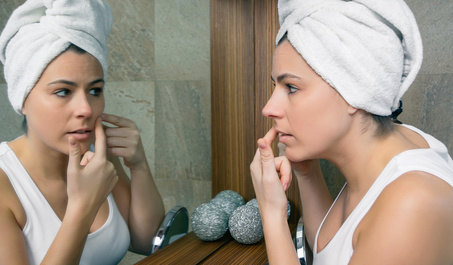 Female Adult Acne: Why You Get It, and 5 Superfoods To Fix It