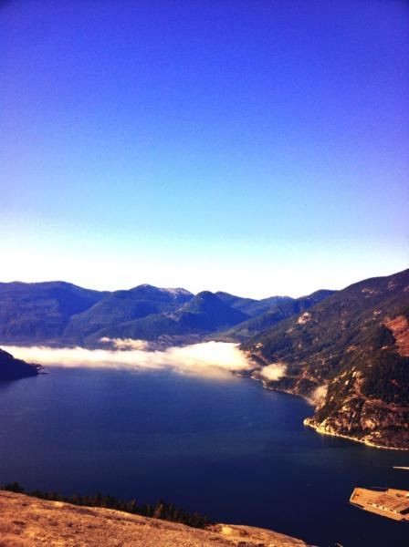View from the Chief in Squamish